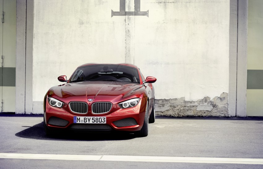 BMW Zagato Coupe injects more sexy into the Z4 Image #108577