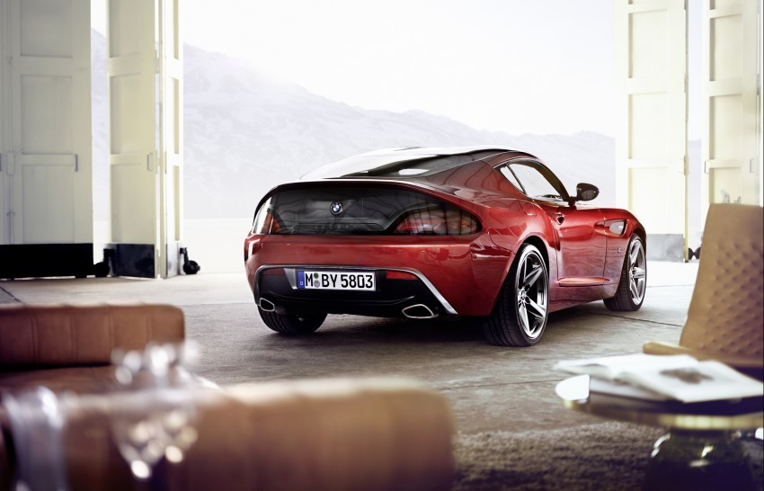 BMW Zagato Coupe injects more sexy into the Z4 Image #108578