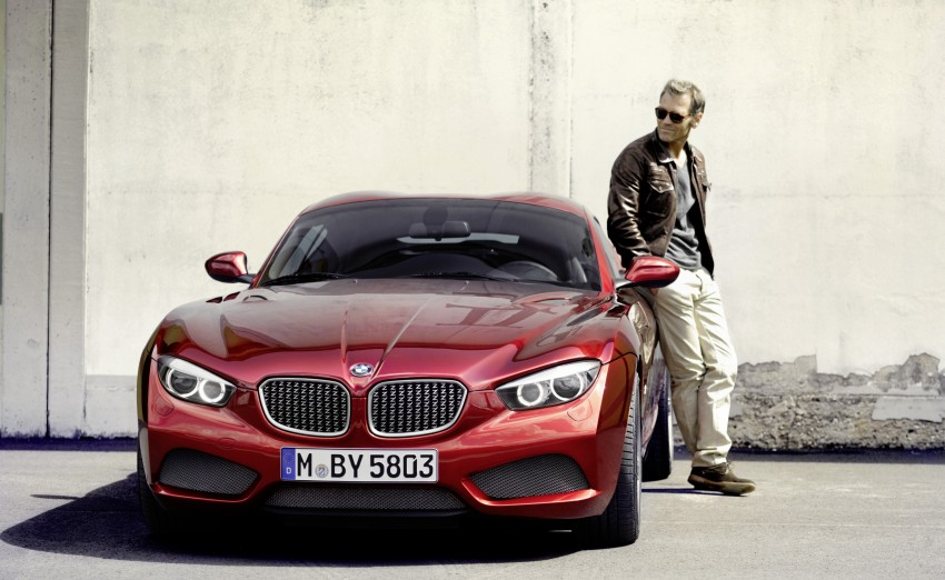 BMW Zagato Coupe injects more sexy into the Z4 Image #108580