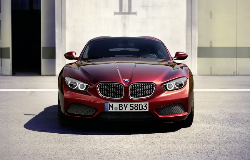BMW Zagato Coupe injects more sexy into the Z4 Image #108581
