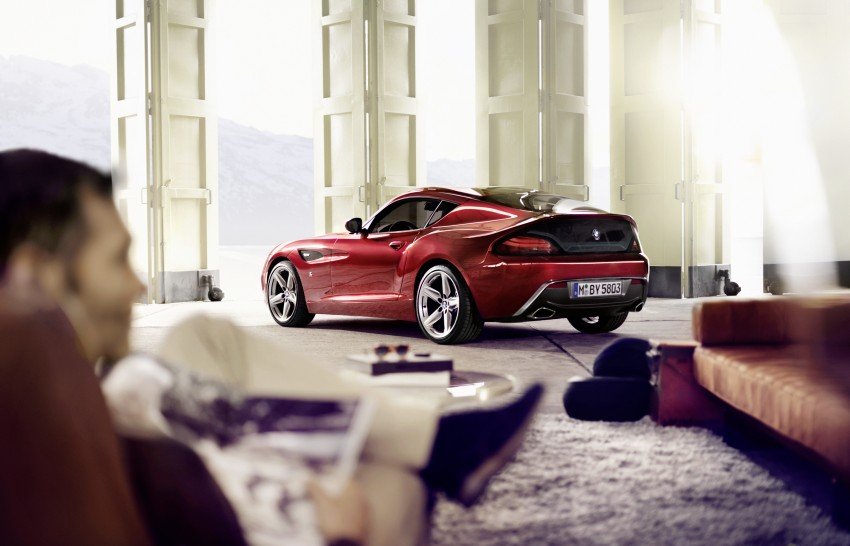 BMW Zagato Coupe injects more sexy into the Z4 Image #108584