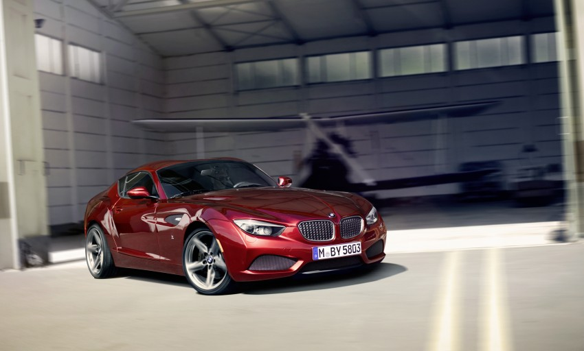 BMW Zagato Coupe injects more sexy into the Z4 Image #108585