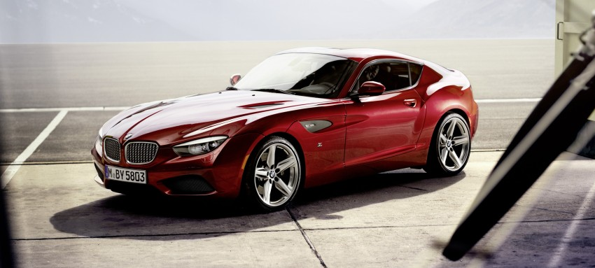 BMW Zagato Coupe injects more sexy into the Z4 Image #108588