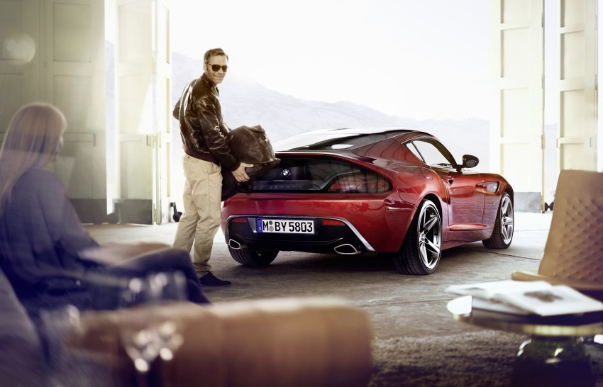 BMW Zagato Coupe injects more sexy into the Z4 Image #108589