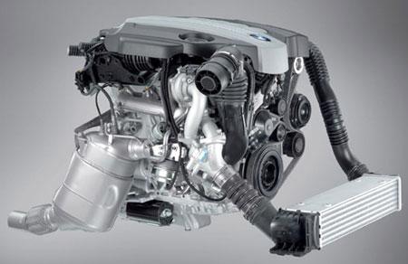 New BMW 204hp, 400Nm twin turbodiesel inline-4