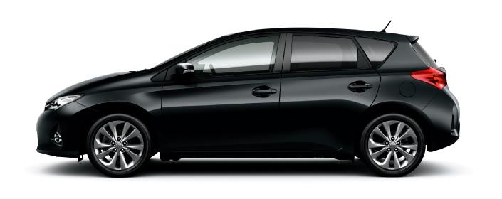 2013 Toyota Auris C-segment hatchback unveiled! Image #126139