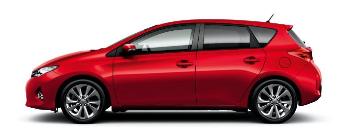 2013 Toyota Auris C-segment hatchback unveiled! Image #126138