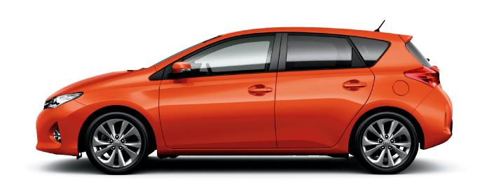 2013 Toyota Auris C-segment hatchback unveiled! Image #126137