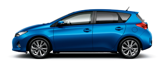 2013 Toyota Auris C-segment hatchback unveiled! Image #126135