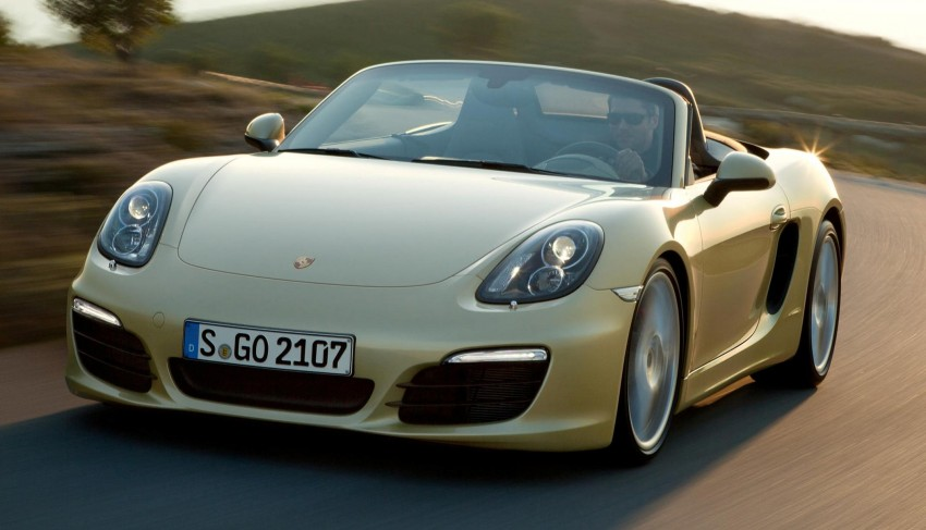 Porsche Boxster – new-generation roadster rolls in Image #84028
