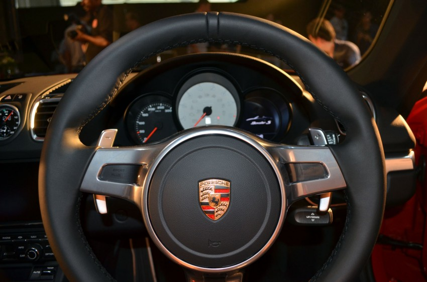 New 981 Boxster and Panamera GTS launched at Porsche Motorsport Week – roadster priced from RM450k Image #106904