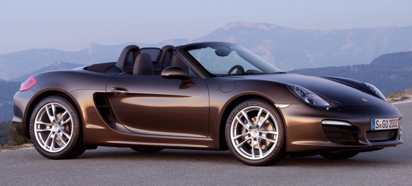 Porsche Boxster – new-generation roadster rolls in Image #84025