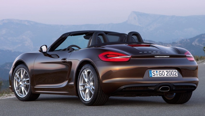 Porsche Boxster – new-generation roadster rolls in Image #84026