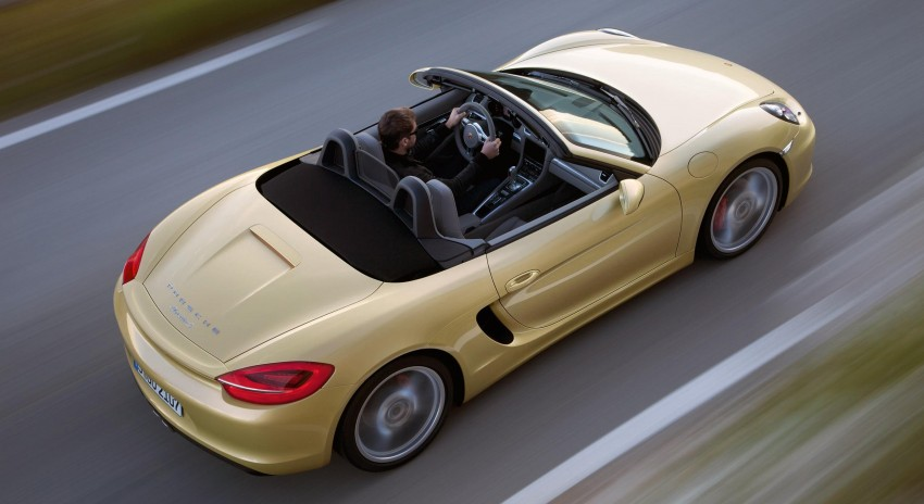 Porsche Boxster – new-generation roadster rolls in Image #84029