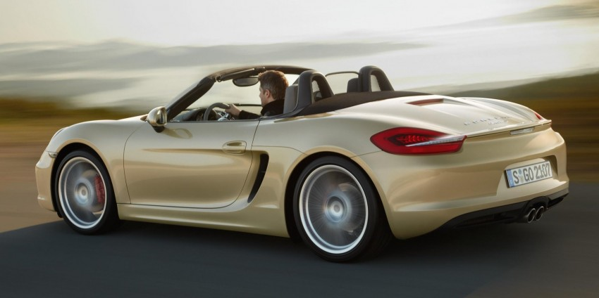 Porsche Boxster – new-generation roadster rolls in Image #84030