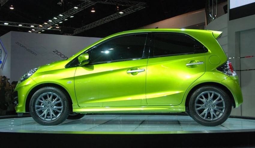 Honda Brio debuts in India – set to take fight to Suzuki Image #70726