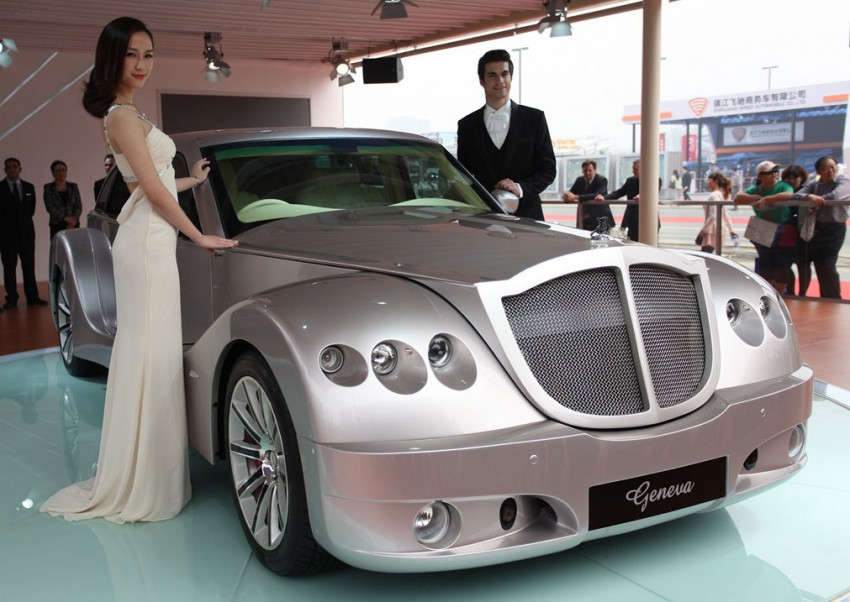 Bufori's flagship Geneva makes China debut in Beijing Image #102936