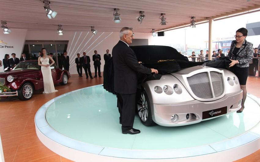 Bufori's flagship Geneva makes China debut in Beijing Image #102942