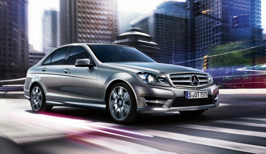 Mercedes-Benz C-Class: more upgrades for the W204 Image #122297
