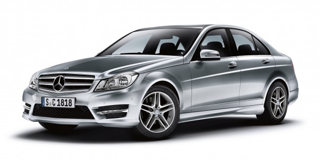 Mercedes-Benz C-Class: more upgrades for the W204