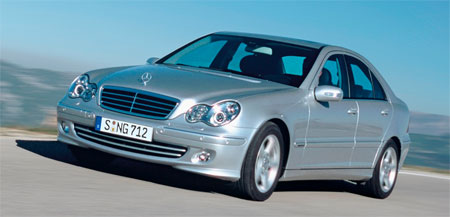 Mercedes benz c230 avantgarde v6 launched for Mercedes benz c230 kompressor 2006