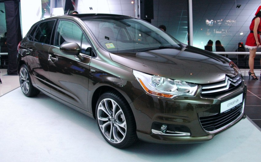 Citroën C4 launched, RM126k – DS4 coming Feb 2012 Image #80785