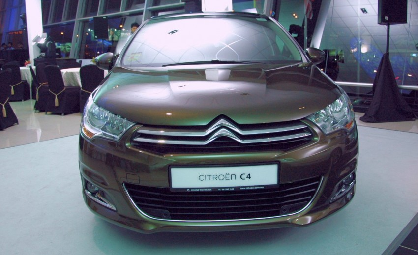 Citroën C4 launched, RM126k – DS4 coming Feb 2012 Image #80789