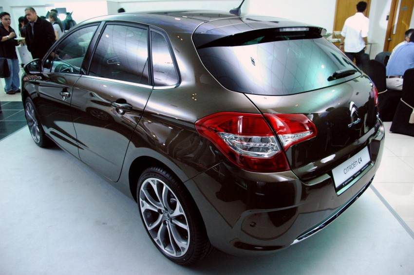 Citroën C4 launched, RM126k – DS4 coming Feb 2012 Image #80794