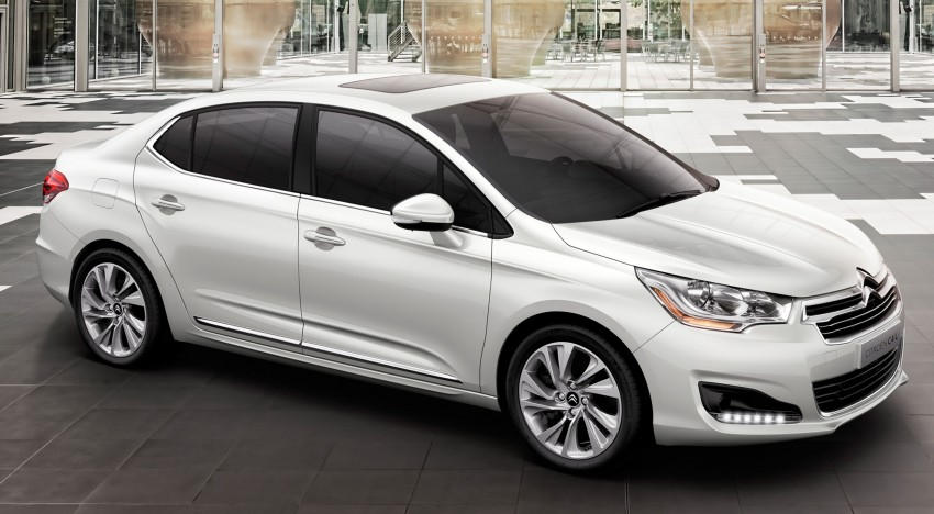 Citroën C4 L – range-topping act for China and Russia Image #113785