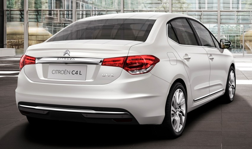 Citroën C4 L – range-topping act for China and Russia Image #113787