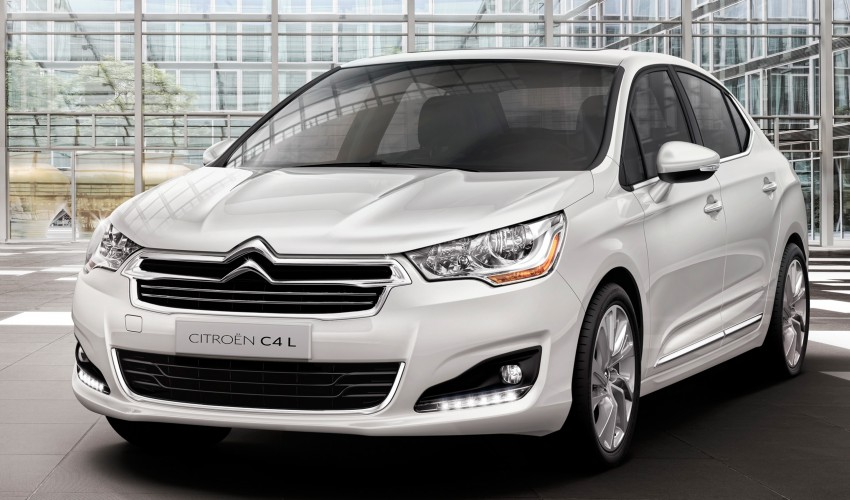 Citroën C4 L – range-topping act for China and Russia Image #113788