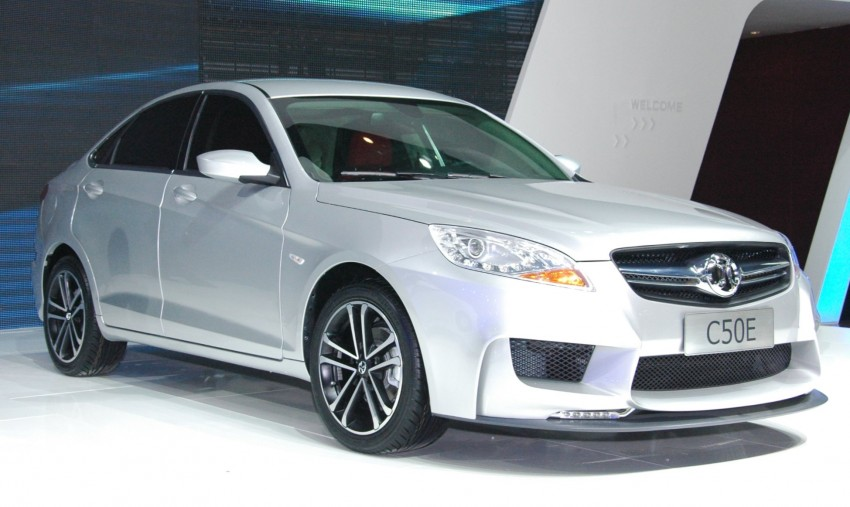 BAIC concepts ride on Saab 9-5 and 9-3 legs Image #103582