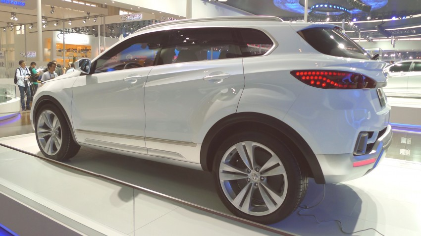 BAIC concepts ride on Saab 9-5 and 9-3 legs Image #103586