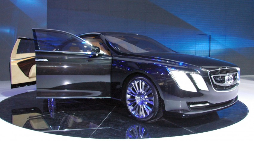 BAIC concepts ride on Saab 9-5 and 9-3 legs Image #103572