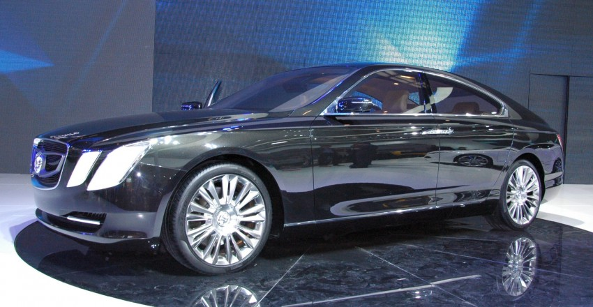 BAIC concepts ride on Saab 9-5 and 9-3 legs Image #103573
