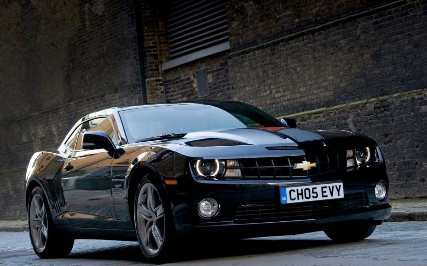 Chevrolet Camaro gains sharper handling for Europe Image #112814