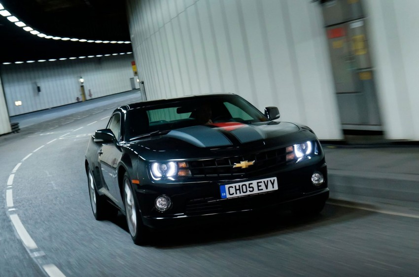 Chevrolet Camaro gains sharper handling for Europe Image #112815