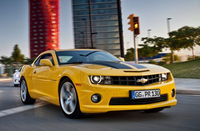Chevrolet Camaro gains sharper handling for Europe Image #112816