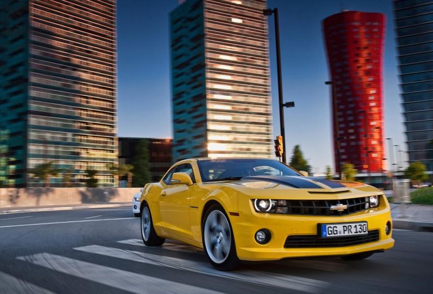 Chevrolet Camaro gains sharper handling for Europe Image #112817