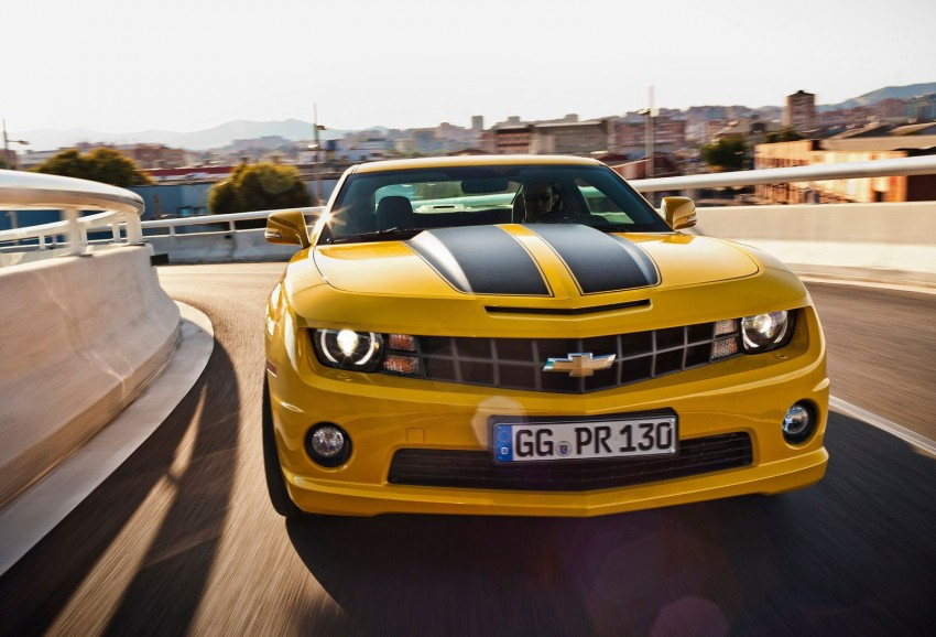 Chevrolet Camaro gains sharper handling for Europe Image #112819