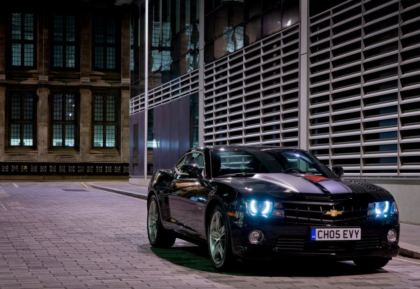 Chevrolet Camaro gains sharper handling for Europe Image #112820