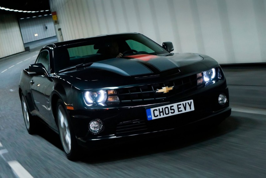 Chevrolet Camaro gains sharper handling for Europe Image #112824