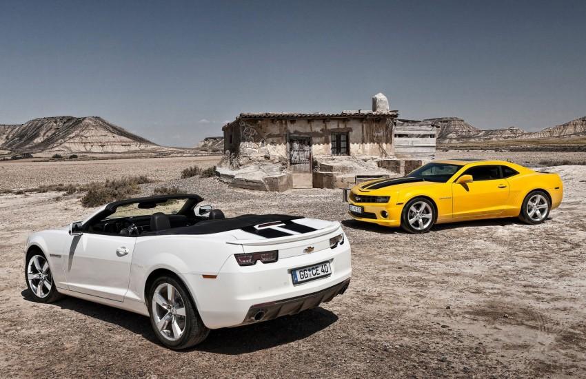 Chevrolet Camaro gains sharper handling for Europe Image #112825