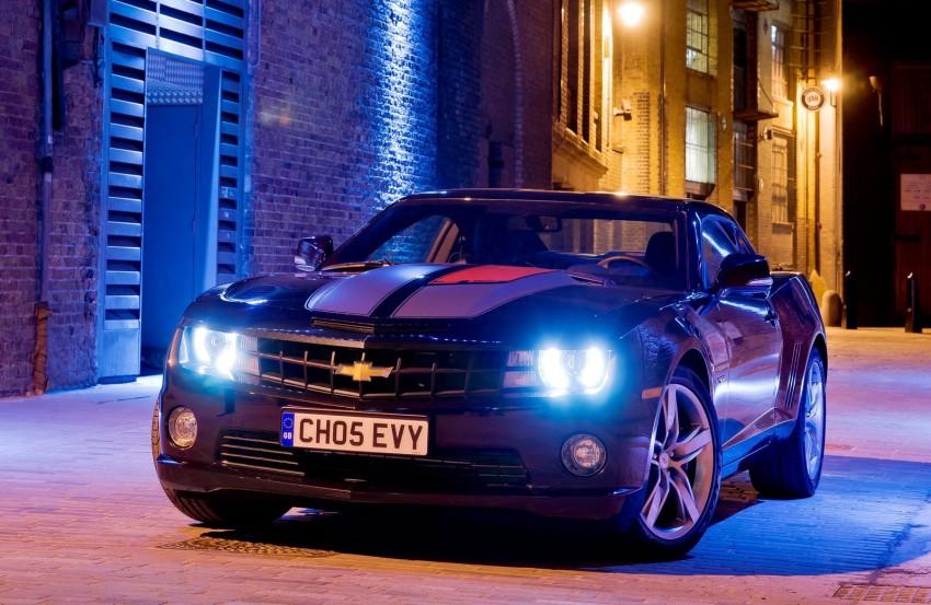 Chevrolet Camaro gains sharper handling for Europe Image #112826
