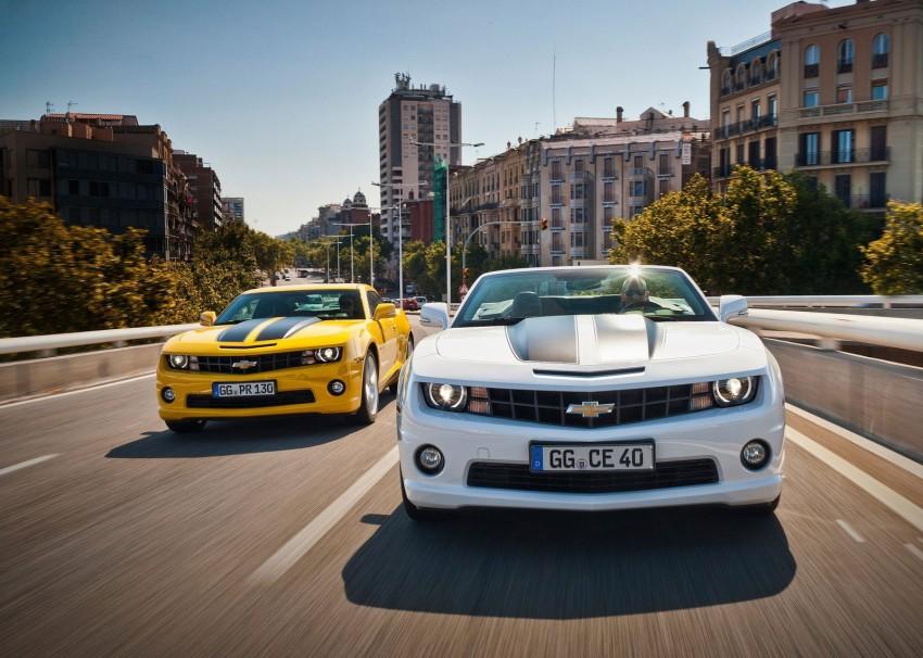 Chevrolet Camaro gains sharper handling for Europe Image #112827