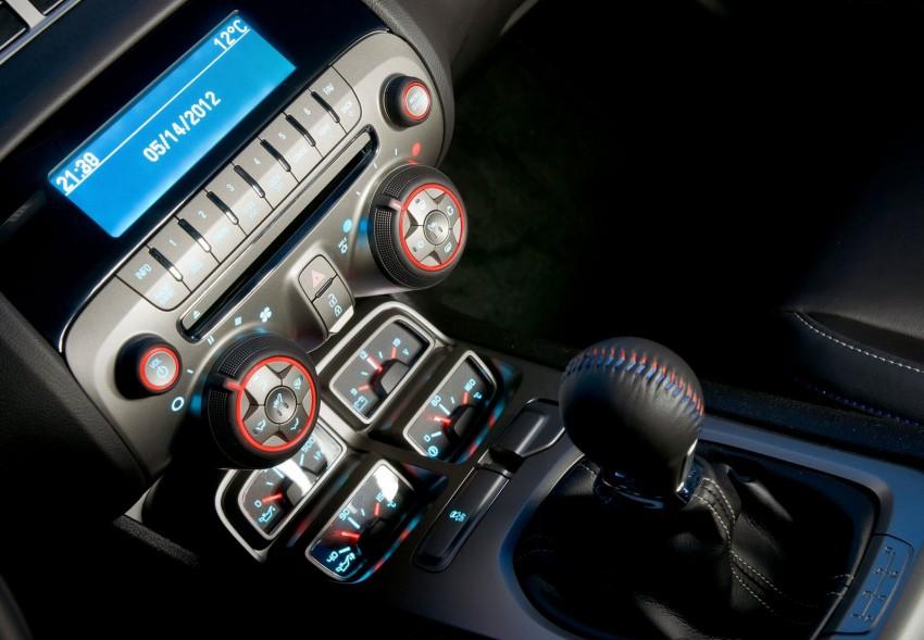 Chevrolet Camaro gains sharper handling for Europe Image #112831