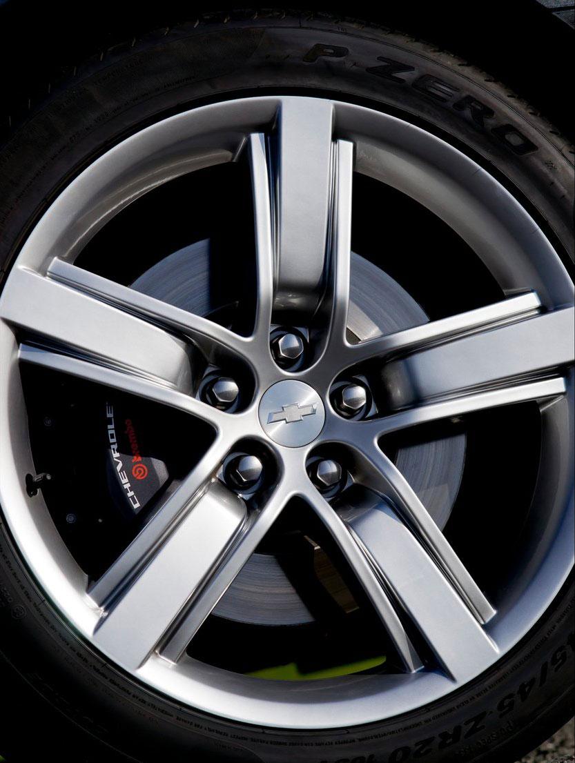 Chevrolet Camaro gains sharper handling for Europe Image #112832