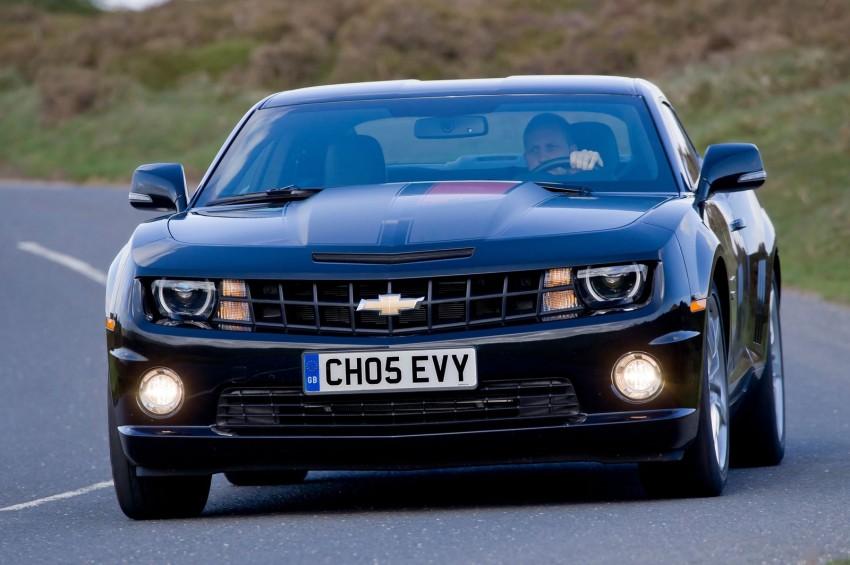 Chevrolet Camaro gains sharper handling for Europe Image #112834