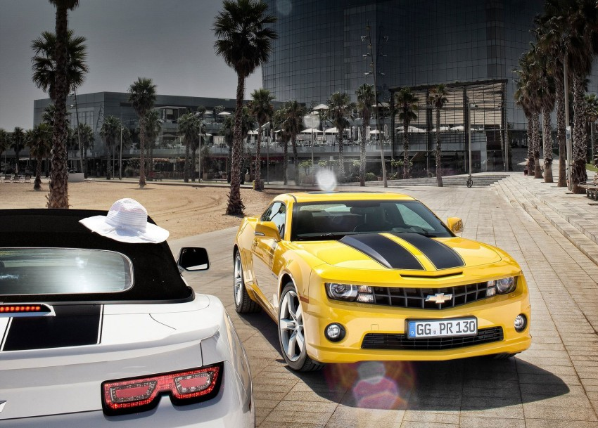 Chevrolet Camaro gains sharper handling for Europe Image #112835