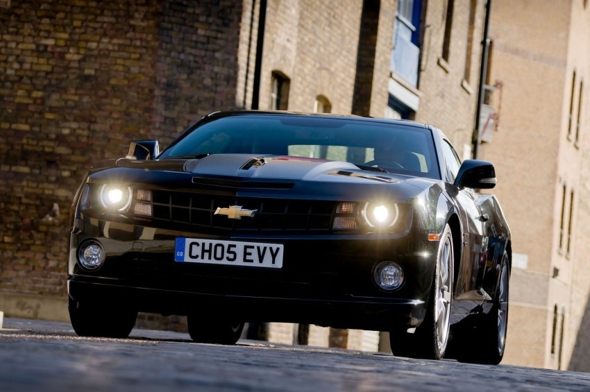 Chevrolet Camaro gains sharper handling for Europe Image #112839